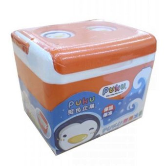 Harga Puku Baby Compact Insulated Cooler Box - Orange