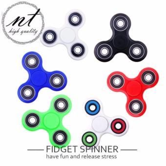 Hi Quality Classic Fidget Spinner Tri Spinner EDC Penghilang Kebosanan 3 .