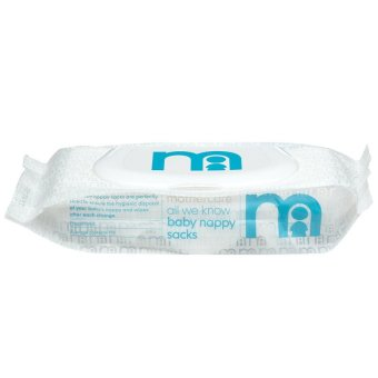 Harga Mothercare All We Know Baby Nappy Sacks - 100 Pack