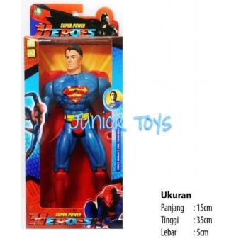 Mainan Robot Super Power Hero Superman Dus