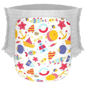 Harga Happy Diapers Pants M30 By The Sea