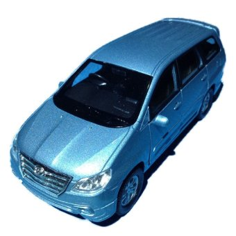 Harga Welly Nex Diecast model Kijang Innova Blue