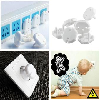 Harga 20 Pcs Safety Outlet Plugs Covers Baby Electric Proof Shock Guard Caps - intl