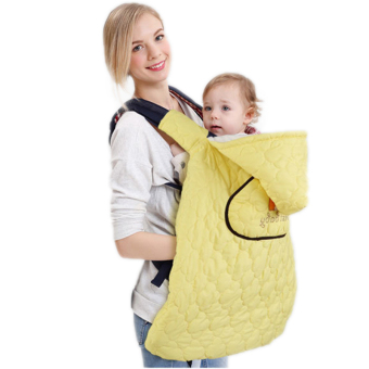 Harga winter baby carrier Multi-function cloak windproof warm baby sling cape mantle high quality rainproof cape