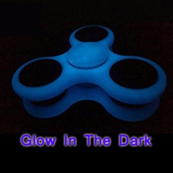 Harga Lucky Fidget Spinner Glow in The Dark Hand Spinner Toys Focus Games/ Mainan Spinner Tangan Penghilang Rasa Bosan Melatih Konsentrasi & Fokus Penghilang Kebiasan Buruk - Blue