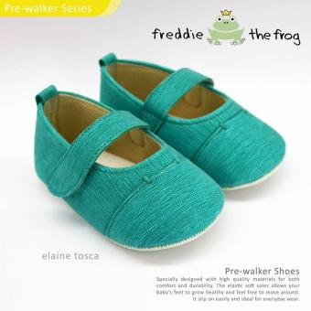 Harga Freddie The Frog Baby Shoes Elaine Tosca - Size %- Uisa 9M -12M