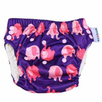 Harga Swim Diaper Ecobum Motif Cute Elephants Celana Renang Premium Anak 3 Size in 1