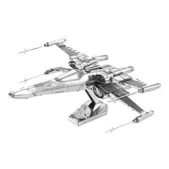Harga Fascinations Metal Earth Star Wars Poe Dameron's X-Wing Fighter