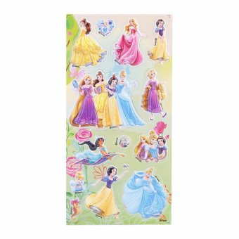 Harga Disney Princess Embossing Stickers