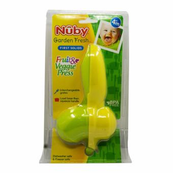 Harga NTR Nuby Garden Fresh Food Baby Press / Fresh Fruit & Veggie Press