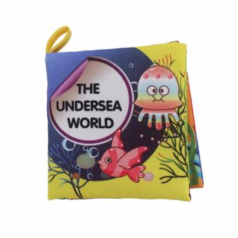 Harga EELIC AYI-BU04 THE UNDERSEA WORLD BABY BOOK MAINAN BUKU BAYI KAIN