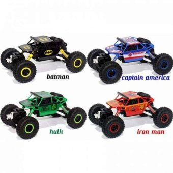 Harga RCR Hero Car Rock Crawler 4 WD
