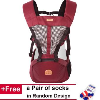 Harga Hipseat Baby Wrap Multifunctional Front Facing Baby Carrier Sling Backpack