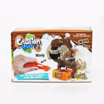 Harga WLW888 Caution Vicious Dog / Beware Bad Dog (Besar) - Anjing Galak