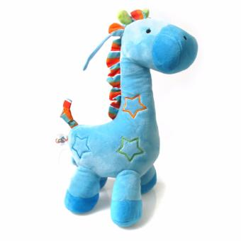 Harga Baby Grow Musical String Plush Toy - Blue Giraffe