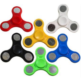 angel – java fidget spinner htoys mainan tri-spinner edc focus games warna random