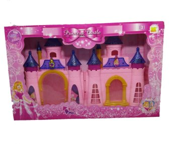 Harga Toy studio Princess Castle istana Princess warna pink