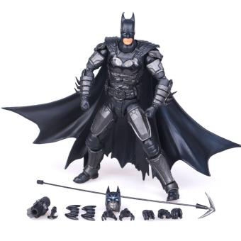 Super Cool Justice League Batman Movable Action Figure Toys For Boys 18cm Height - intl .