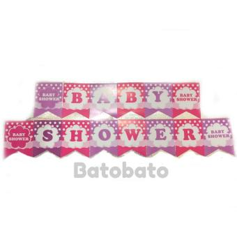 Harga Banner / Bunting Flag Baby Shower
