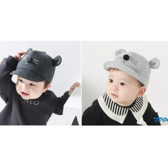 Harga KSM TP040 Topi fashion 3D motif mouse/topi fashion anak/topi fashion bayi/topi anak/topi bayi/topi fashion 3D