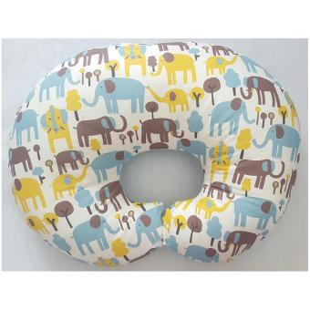 Harga Bumbee Collection Bantal Menyusui Motif Gajah Kuning