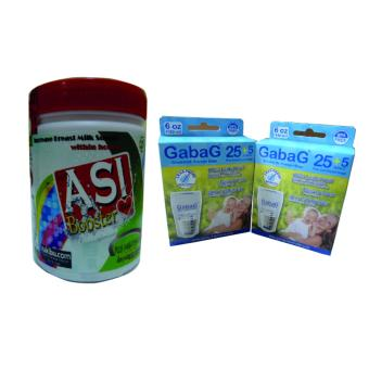 Harga Asi Booster Tea - Pelancar Asi (1 Pcs) + Kantong Asi Gabag 180 ml (2 Pcs)