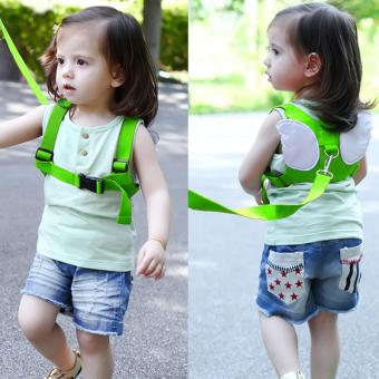 Harga Baby Safety Belt Harness Leashes Strap Bag Anti-lost Angel Wings Keeper Toddler Walking Wings - intl