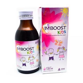 Imboost Kids 120 Ml - Meningkatkan Daya Tahan Tubuh Anak, SistemImunitas Tubuh Anak, Kekebalan
