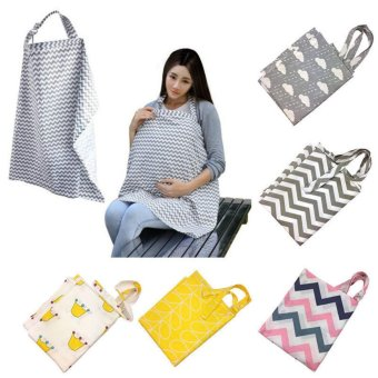 Imixlot Mother Breast Feeding Maternity Nursing Apron BreastfeedingCovers Storage Bag - intl