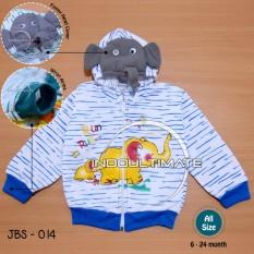 Jaket Hangat Bayi Motif / Jacket Baby Motif / BY JBS-01 JACKET BABY MOTIF - BLUE
