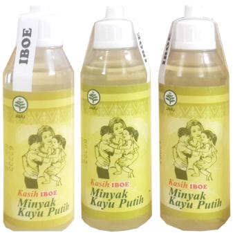 Jamu IBOE Minyak Kayu Putih 5 botol @60 ml