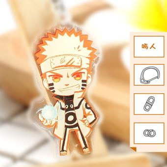 Kakashi Naruto kunci gesper Itachi Sasuke Luo liontin