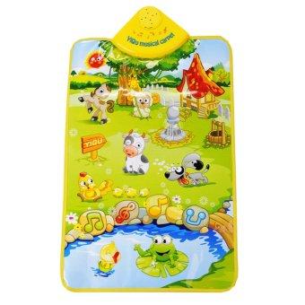 Karpet Musik Dream Land Farm Selimut Tikar Bermain Pendidikan Bayi Plastik - 4 .