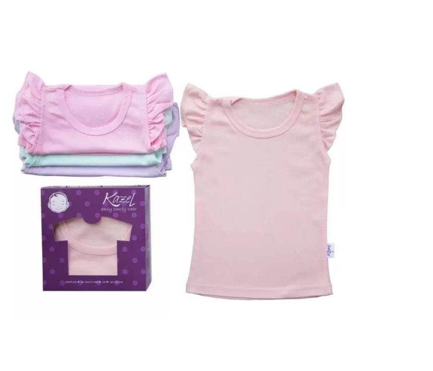 Super Lucu Bayi Girls Renda Decor Baju Monyet Sleeveless Fashion ... - Labalade Frill