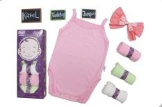 Kazel Tanktop Jumper - baju bayi s.d batita ( 0 - 2 thn )