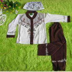 Kembarshop Set Gamis Umroh PLUS Jilbab Syari Polos Putih Daftar Source set gamis .