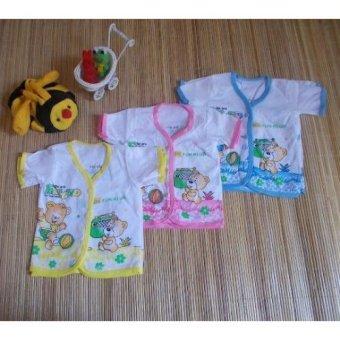 kembarshop - Set 6 Pcs Baju Bayi Newborn Lengan Pendek