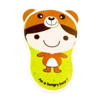 Kiddy Baby Bowl Set BPA Free Hijau - Tempat Makan Bayi atau Mangkuk Bayi