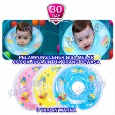 KokaPlay Baby Neck Ring Float Rattle Pelampung Leher Bayi Kerincing - Warna Random