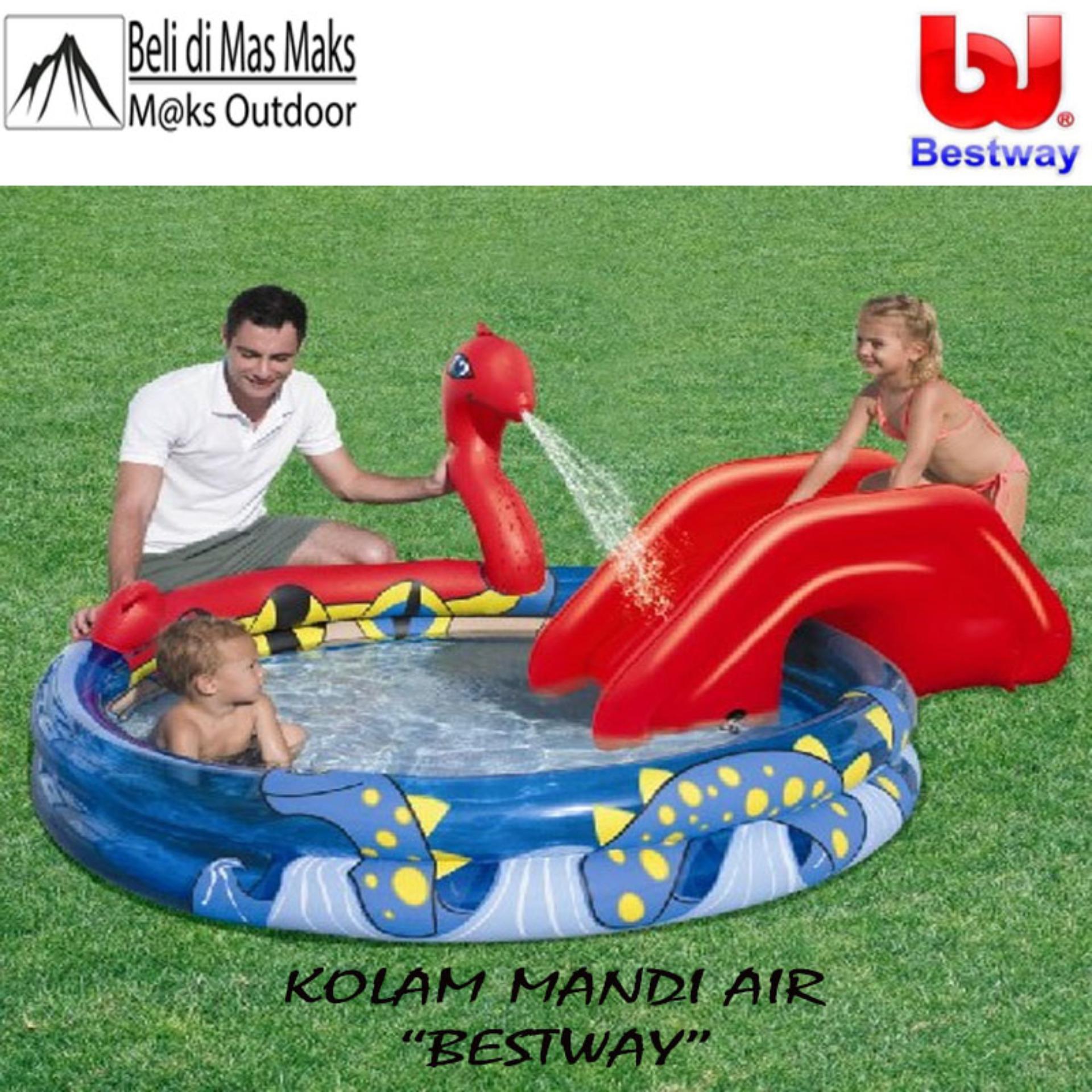 BESTWAY MANDI BOLA TRAIN PLAY CENTER 50PCS BOLA ✓. Source · Kolam Mandi Air Pancuran