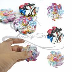 Lucky Hand Fidget Spinner Whirlwind Spiner Tornado Rainbow Abstrak Hand Toys Focus Games / Mainan Spiner ...