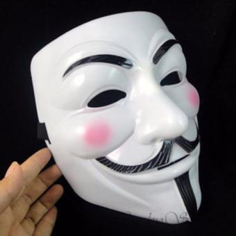 Cek Harga Baru Vendetta Occupy Anonymous Cosplay Mask Putih 1pcs Source · Lucky Topeng Vendetta Topeng Plastik Tahan Lama Topeng Halloween pesta kostum