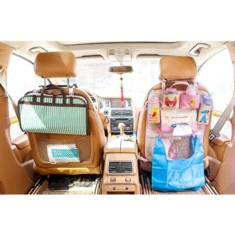 Lynx Car Seat Back Organizer Bag Cute Kartun Multi PocketInsulation Thermal Storage Holder .