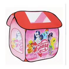 Mainan Anak Tenda Rumah LIttle Pony Pink