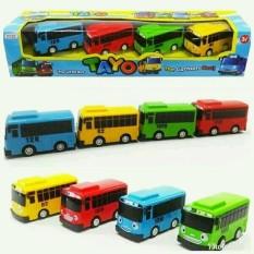 Mainan Bus Tayo Set Isi 4 pcs
