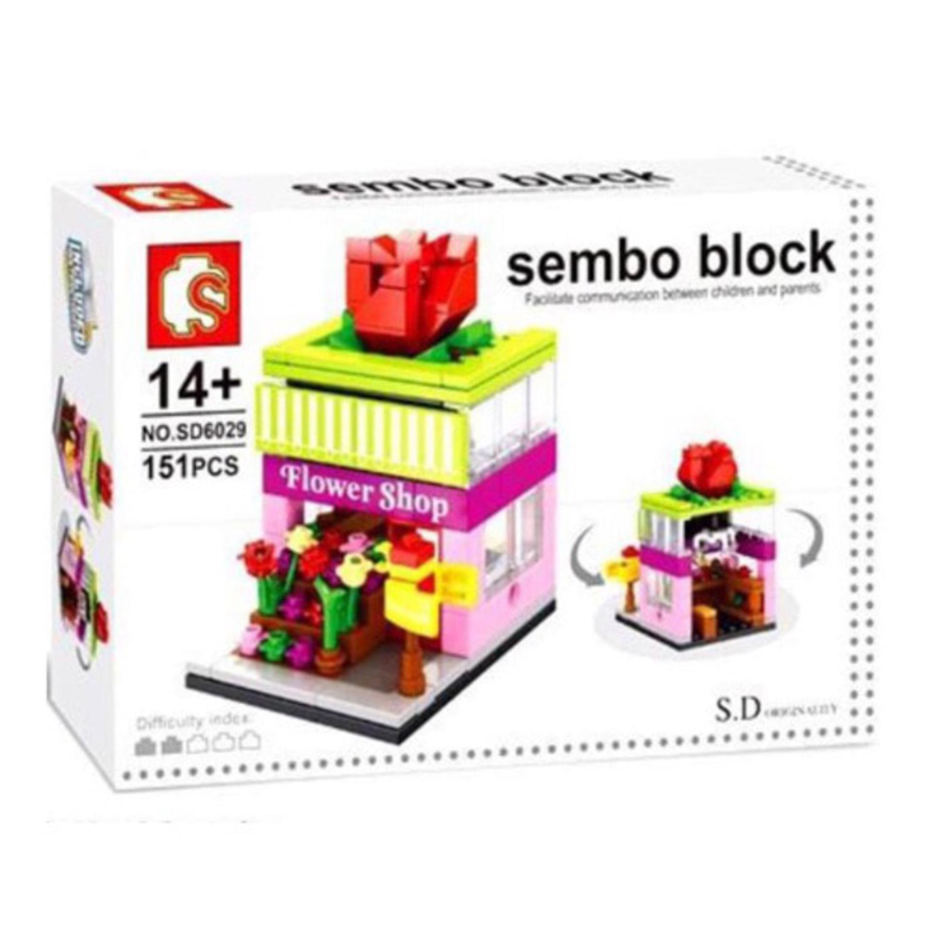 Penawaran Bagus Mainan Edukasi Anak Lego Sembo Blocks Sd6029 Flower Sempoa Alat Hitung