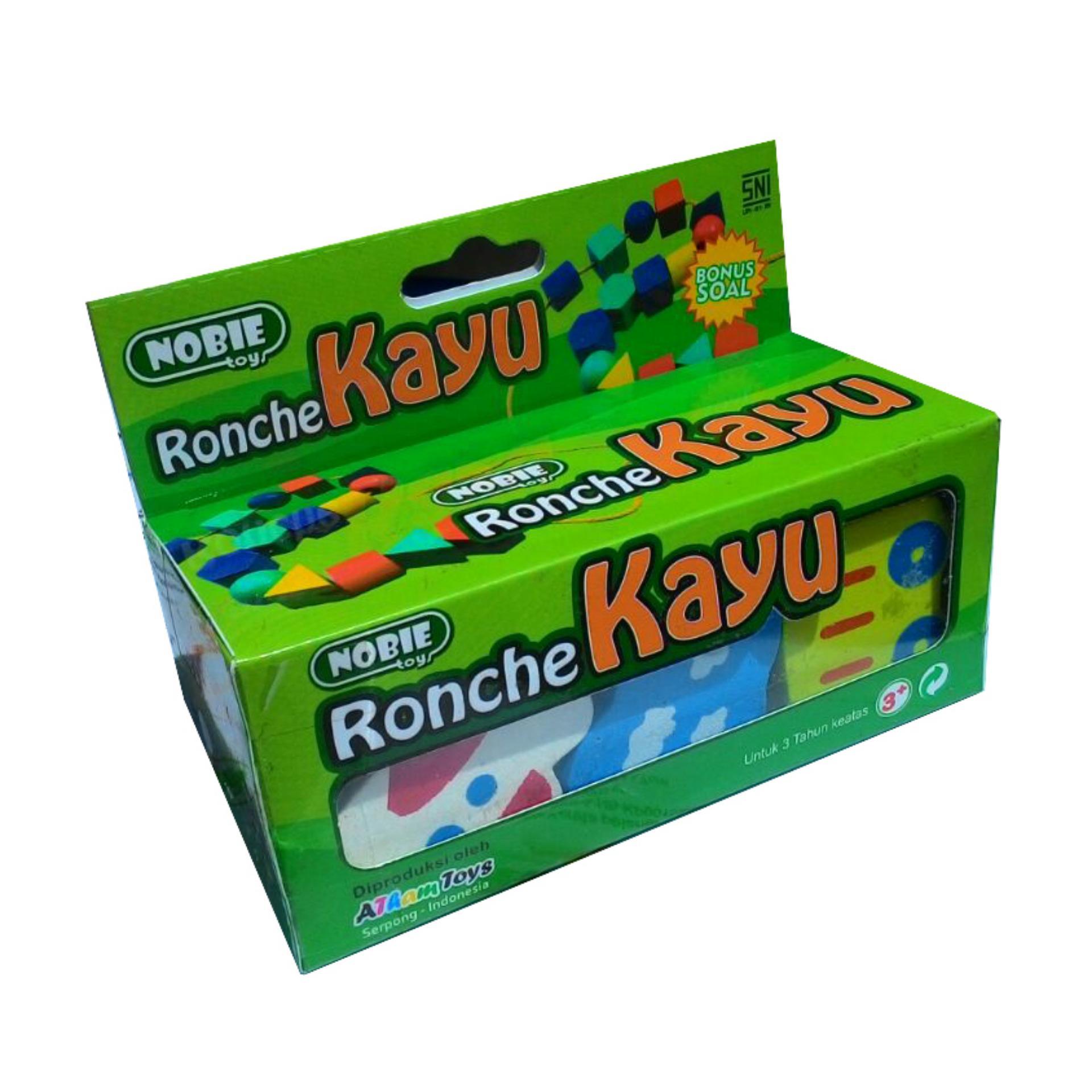 Mainan Kayu Edukasi Ronche Ronche Angka (AT232) .