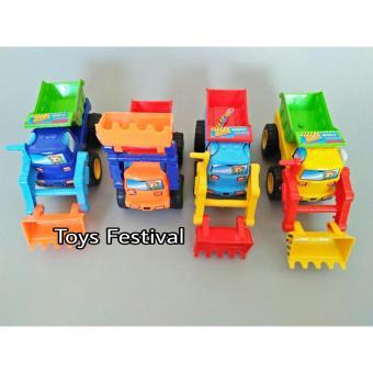 Mainan kendaraan truk truck konstruksi