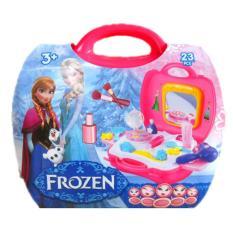 Mainan Make Up Dream Beauty Set Koper Frozen - Kado Anak Cewek