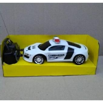 Mainan Mobil Remote Control Police - Rc Police Car Commander firecar